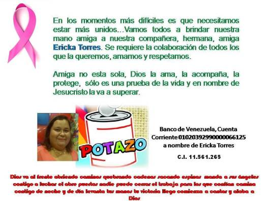 Potazo Ericka Torres